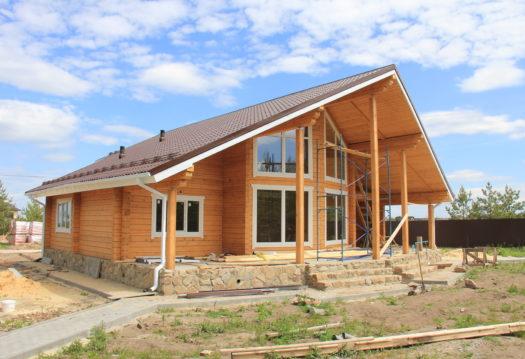 Строительство деревянных домов: проектирование коттеджей: из дерева, кирпича и газосиликата в Воронеже - Наши работы