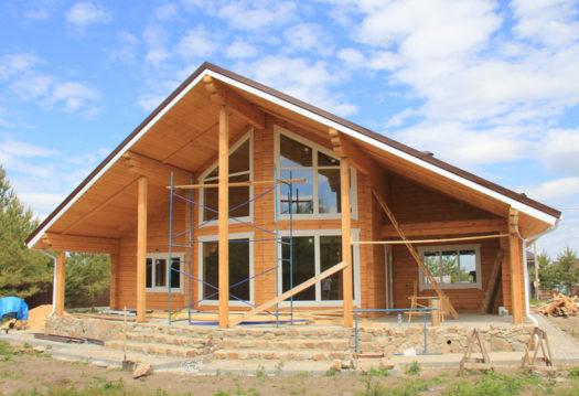 Авторский проект 4716Авторский проект дома из профилированного бруса