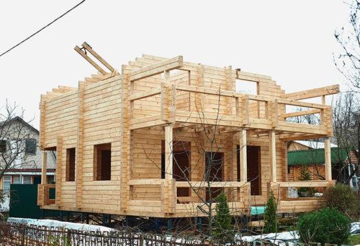 Авторский проект 4715Авторский проект дома из клееного бруса